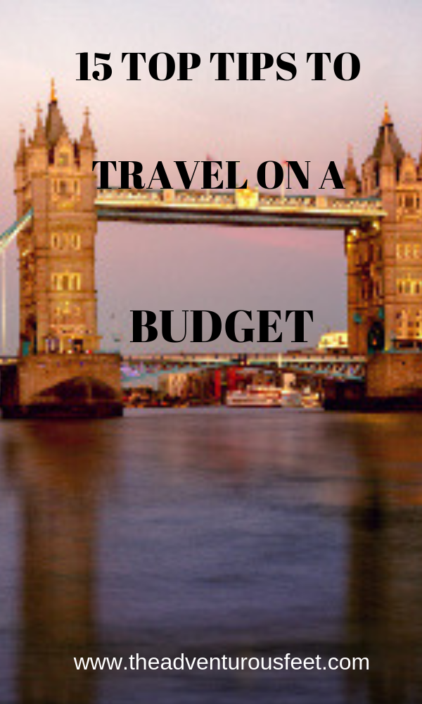 Want to travel cheap?These 15 top tips to travel on a budget will guide you . book an air-ticket in advance, travel to cheap destinations, stay at cheap hotels and many more #budgettravel #travelonabudget #tipstotravelonabudget