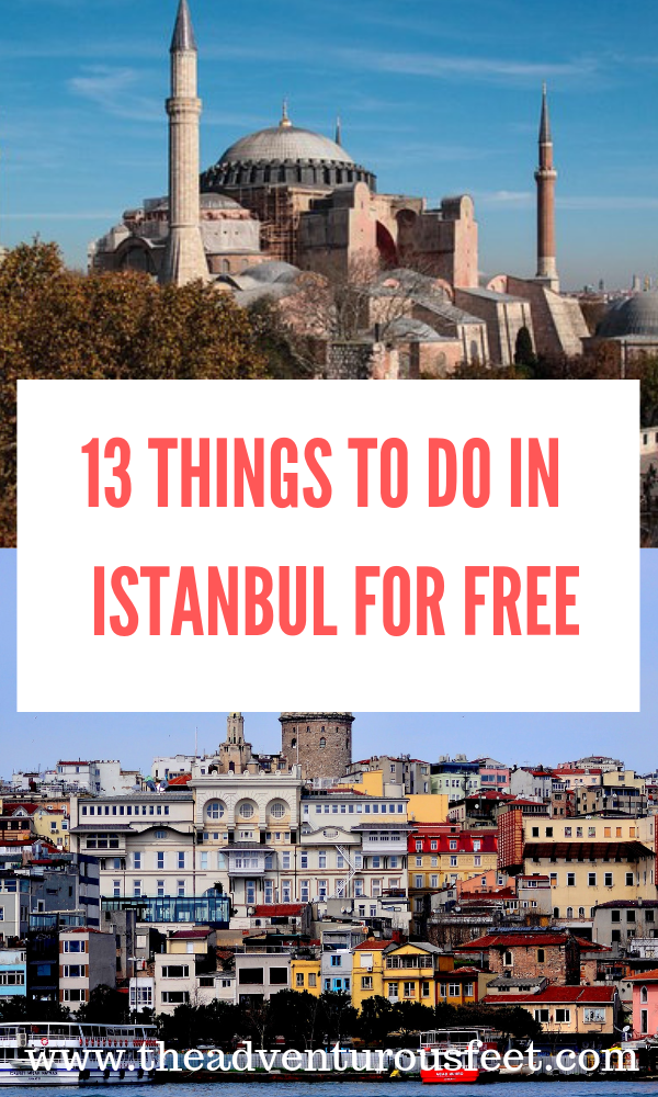 Traveling to Istanbul but on a shoestring budget? Here are some f the fun things to do in Istanbul that wont dry your pockets. #freethingstodoinistanbul #placestovisitinistanbulforfree #whattodoinistanbulforfree