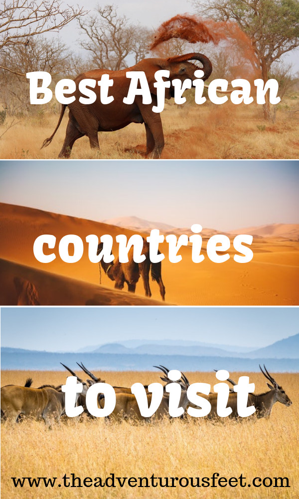 Are you planning to travel to Africa but don't know which countries to visit? Here is a list of the Best African countries to visit and what to do in each country. #BestcountriestovisitinAfrica #BestAfricancountries #bestcountryinAfrica