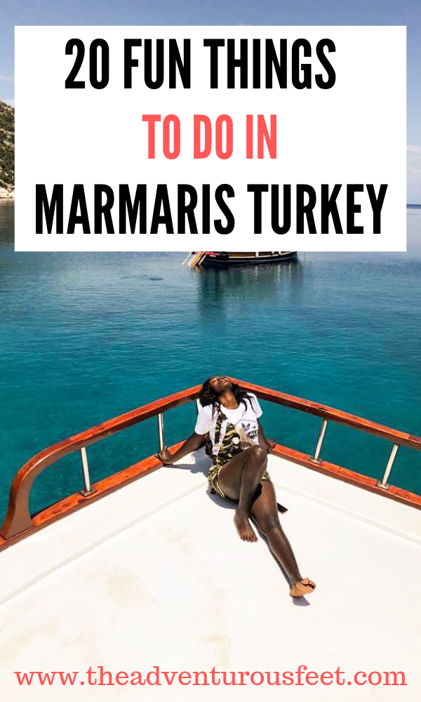 Planning to go to Marmaris? Here are the 20 marmaris excursions that you shouldn't miss out. |things to do in Marmaris |places to visit in Marmaris |what to do in marmaris |marmaris activities #thingstodoinmarmaris #marmaristurkey
