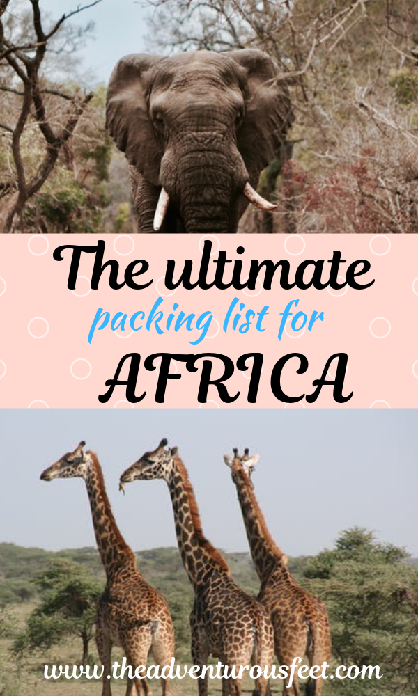 Wondering what to pack for your african safari? This ultimate packing list for Africa will show you everything you should pack and what you shouldn't pack. #packinglistforafrica #whattopackforanafricansafari #africa #africansafari