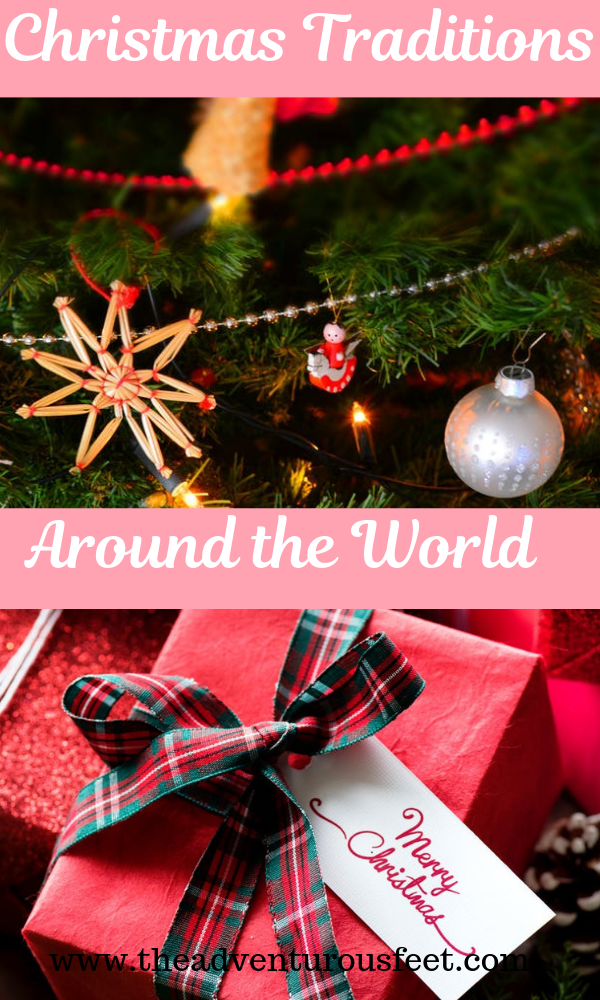 Discover how christmas is celebrated aroun the around the world. #christmasaroundtheworld #christmastraditionsarountheworld #christmasinamerica #christmasinspain #christmasinsouthafrica #chritmastrees #christmascarols #christmasornaments #christmastraditions