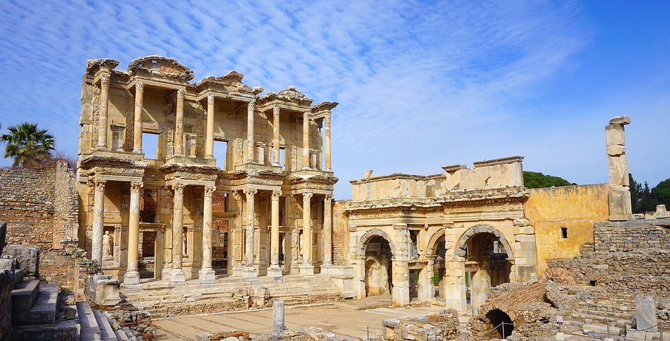 Ephesus is a very important place to the christian community as its where st Paul and the virgin Mary used to live for some time.