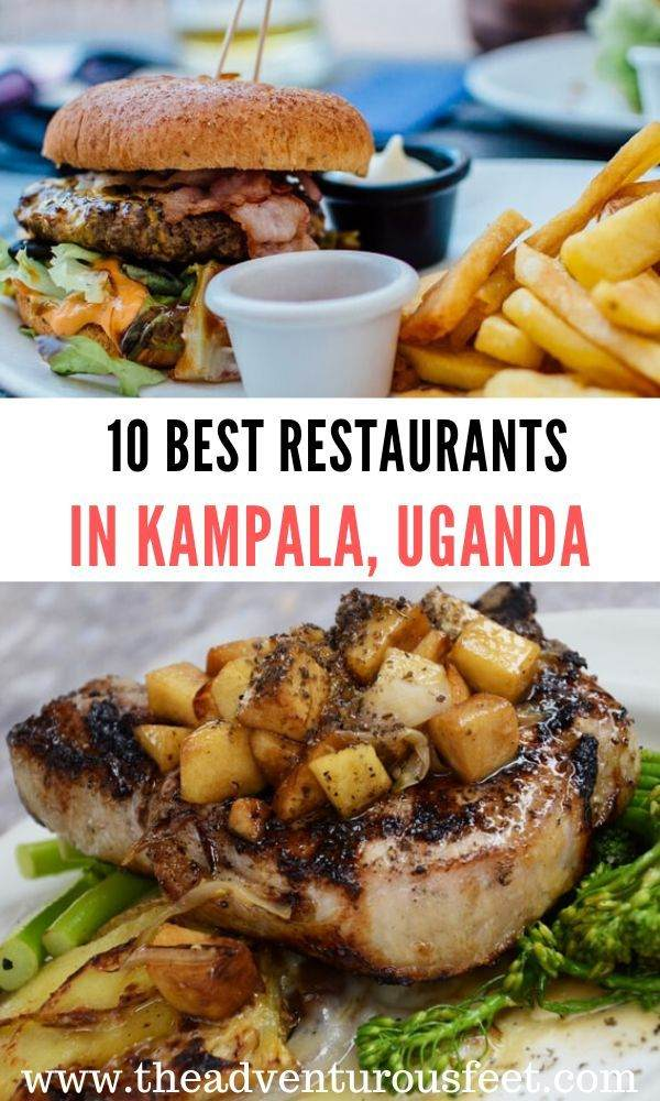 Looking for where to eat at in Kampala? Here are the 10 best restaurants in Kampala that serve delicious meals and also offer an amazing ambience. |top restaurants in Kampala | kampala restaurants | best restaurants of kampala |best cafes in kampala, uganda |#restaurantsinkampala #kampalarestaurants #theadventurousfeet
