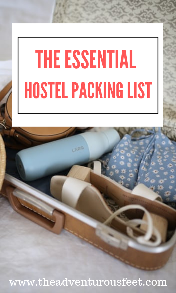 planning on staying in a hostel? Here is the essential packing list you'll need before you go. hostel packing list travel essentials  hostel packing list tips  things required for a hostel  what to pack for a hostel stay  things to be bring to hostel   #hostelpackinglist #packingforahostel #packingtips