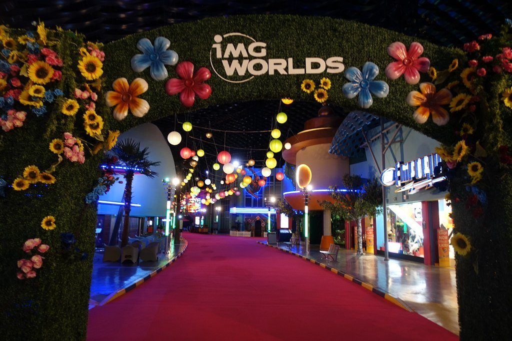IMG Worlds of Adventure is one of the places to visit in Dubai and one the best dubai activities