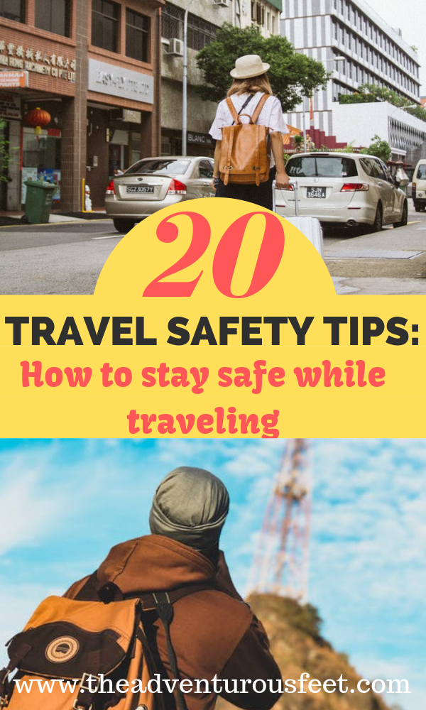 Looking for safety tips for traveling abroad? This post discusses everything you need to know to stay safe while traveling. #travesafetytips #travelingsafetytips