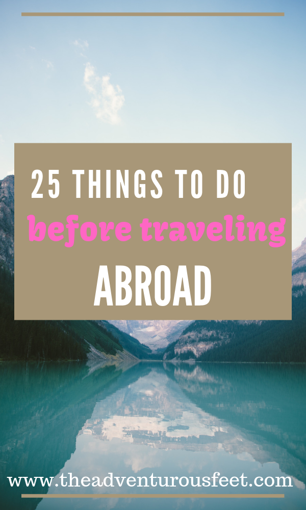 Are you ready to go for your highly anticipated international trip? here are the things to do before #travelchecklist #overseastravelchecklist
