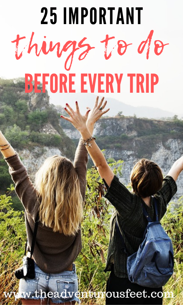 Are you planning to go for a vacation? Here are the most important things to do before every trip. |International travel tips for travelers. | what to do before traveling abroad| the essential international travel checklist | to do list before international travel #traveltips #internationaltravelchecklist #howtoplanatrip #thingstodobeforetravelingabroad