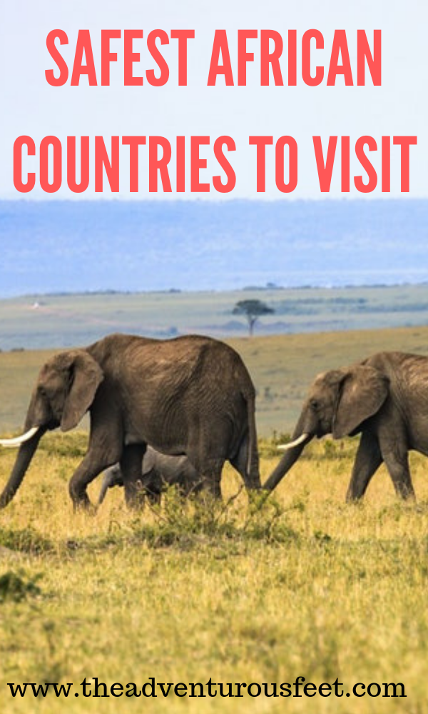 Not sure about traveling to Africa because of its safety? Here are the safest countries in Africa you should travel to #safecountriesinAfricatovisit #Africa #TraveltoAfrica