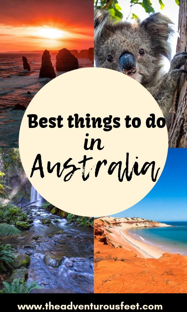 Wondering where to go in Australia? This post details all the things to see and do in Austsralia. #bestthingstodoinaustralia #whattodoinaustralia #australiatravel