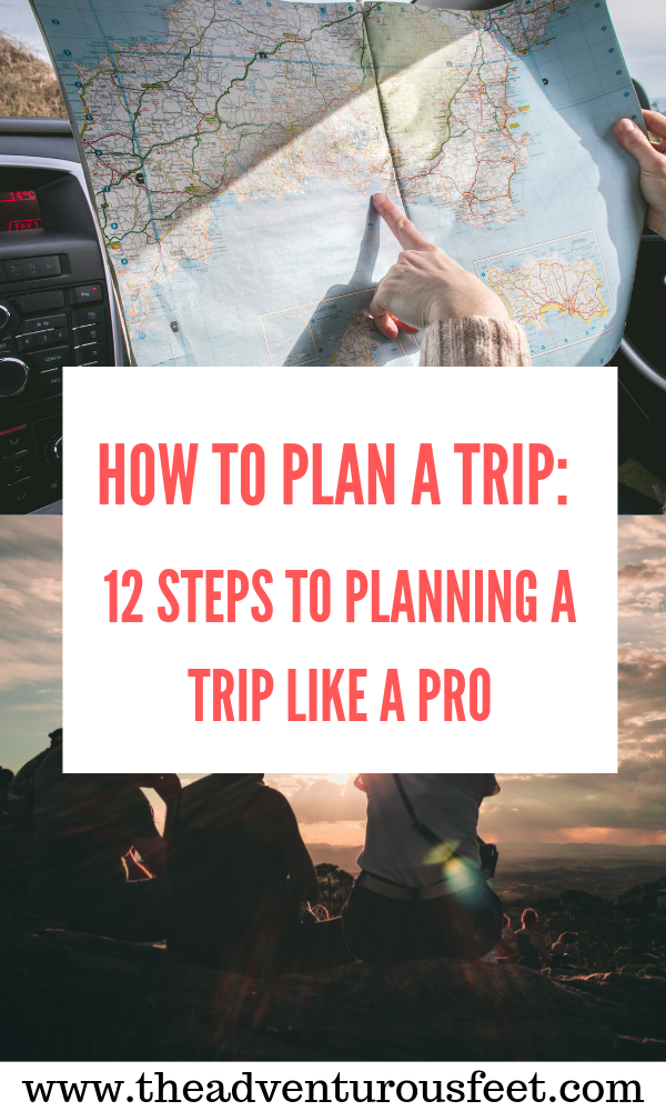 Are you traveling internationally? Here are the steps to plan a trip like a pro. #planatripchecklist #howtoplanatrip #stepstoplanningatrip #tipsonhowtoplanatrip #howtoplanaholiday #howtoplanyourtrip