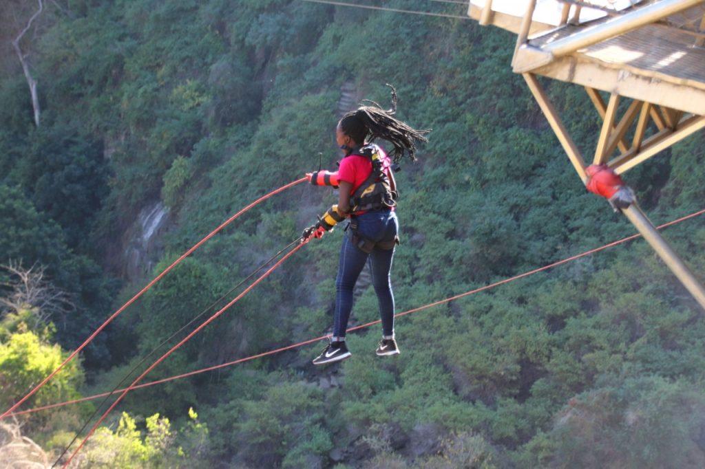 bridge swing is one of the victoria falls activities to do