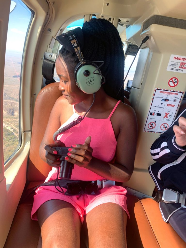 me flying over victoria falls