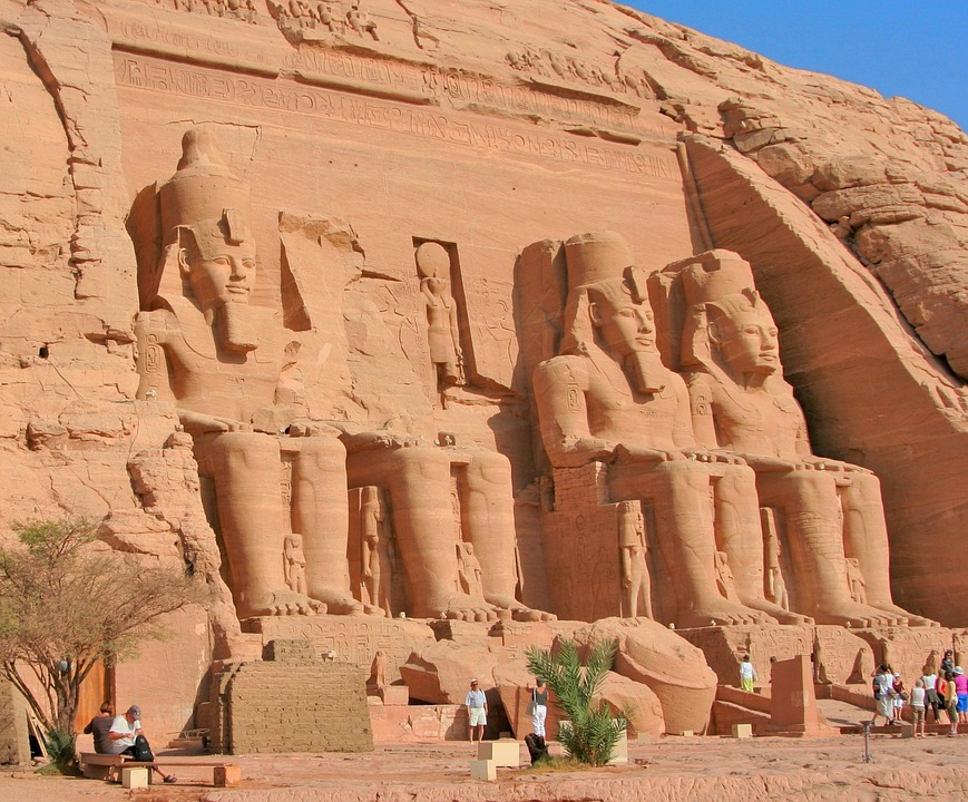 Abu simbel is one of the best Egypt landmarks to visit