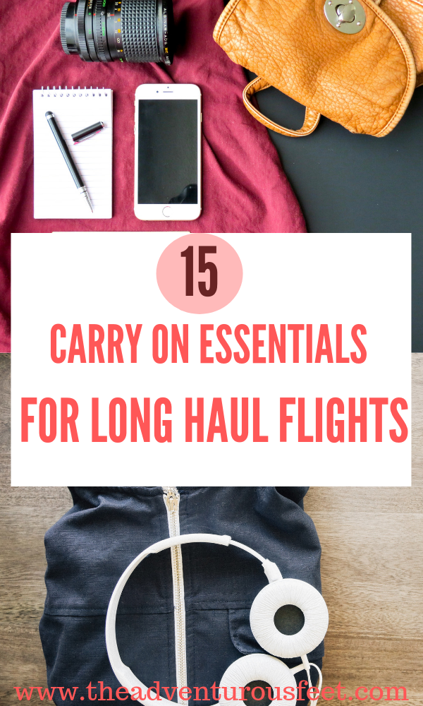 Planning to go for a long flight? Here are the carry on essentails you need for that long haul flight.|carry on essentials for long flights |carry on essentials international|carry on essentials list| what to pack for a long flight| travel essentials for long flights #longflightessentials #carryonessentialsforlonghaulflights