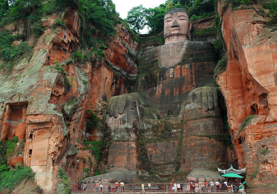 Leshan Giant Buddha-china landmarks