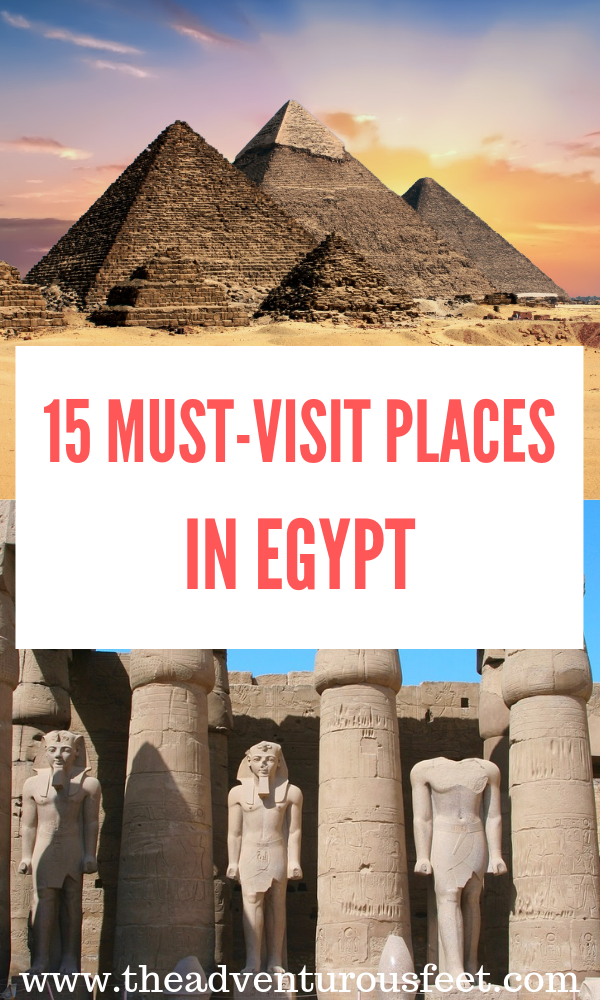 Visiting Egypt? Here are the best landmarks that you shouldn't miss out. #egyptlandmarks #famouslandmarksinegypt #historicalplacesinegypt #egypt