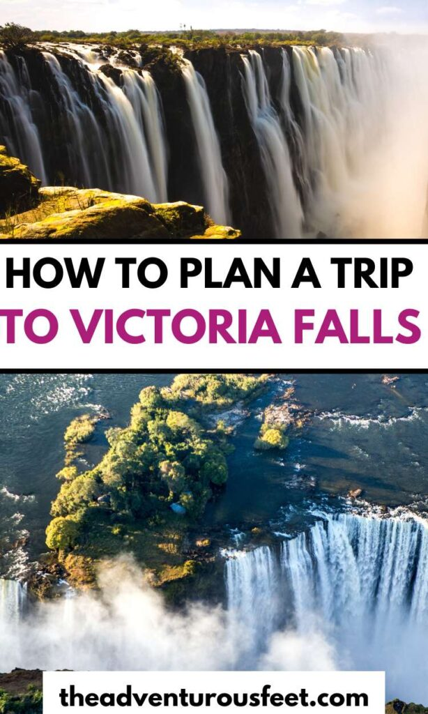Are you planning to travel to Victoria Falls in Zimbabwe? Here are the essentials tips you need to know | How to plan a trio to Victoria falls| Tips for visiting Victoria falls| Guide to visiting Victoria falls in Zimbabwe| Tips for visiting Victoria falls in Zambia| how to get to Victoria falls| Victoria falls tips| Victoria falls travel guide|  things to do at Victoria falls| Victoria falls activities | things to know before traveling to Victoria falls #theadventurousfeet