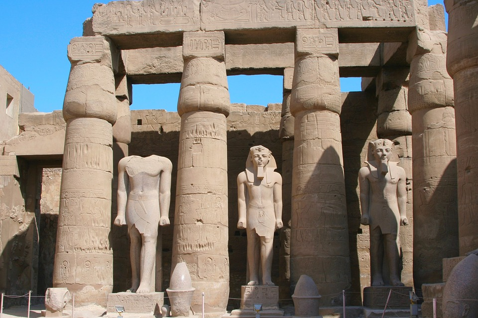 karnak temple- is of the landmarks in egypt