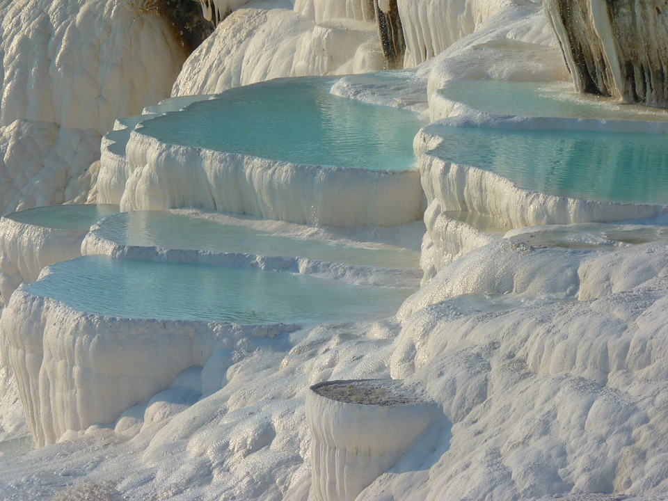 pamukkale-places in Turkey