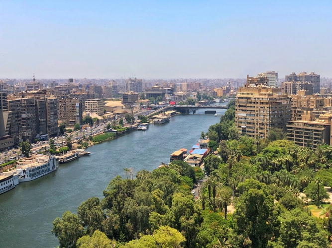 river nile- in cairo