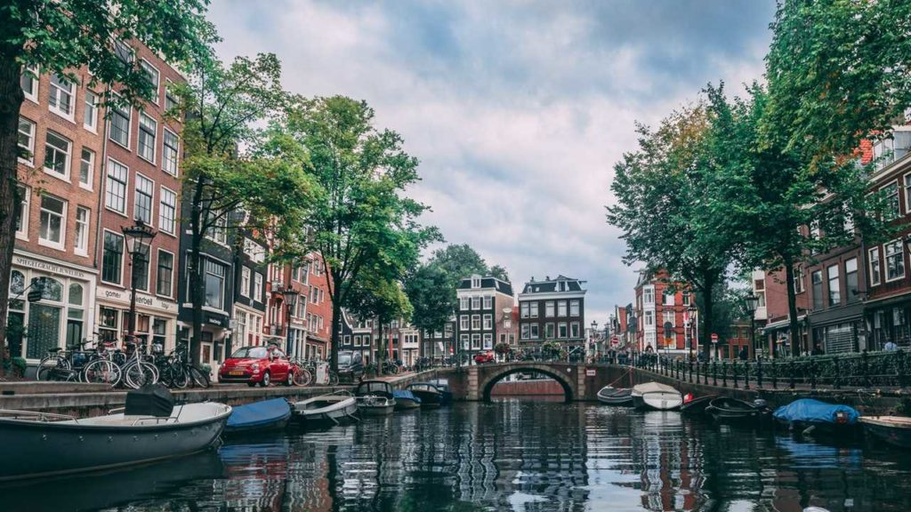 Amsterdam is one of the coolest cities in Europe to visit