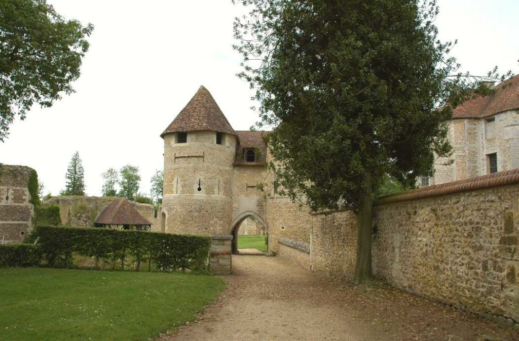 Chateau d'Harcourt is one of the best castles in france