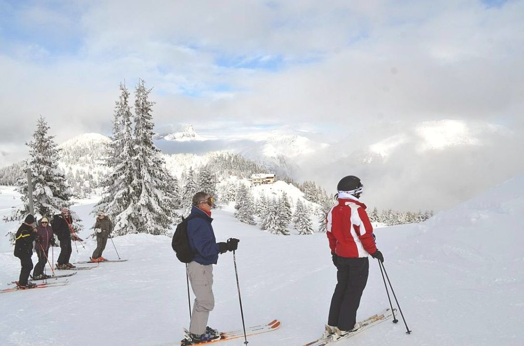 Les Houches is one of the cheapest ski resorts in Europe