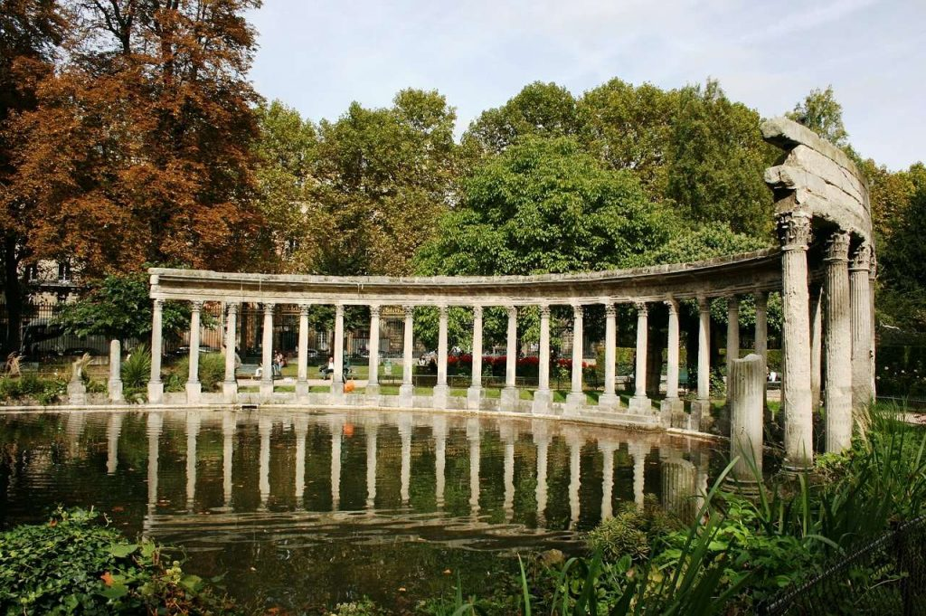 Park Monceau is one of the best places to visit in paris