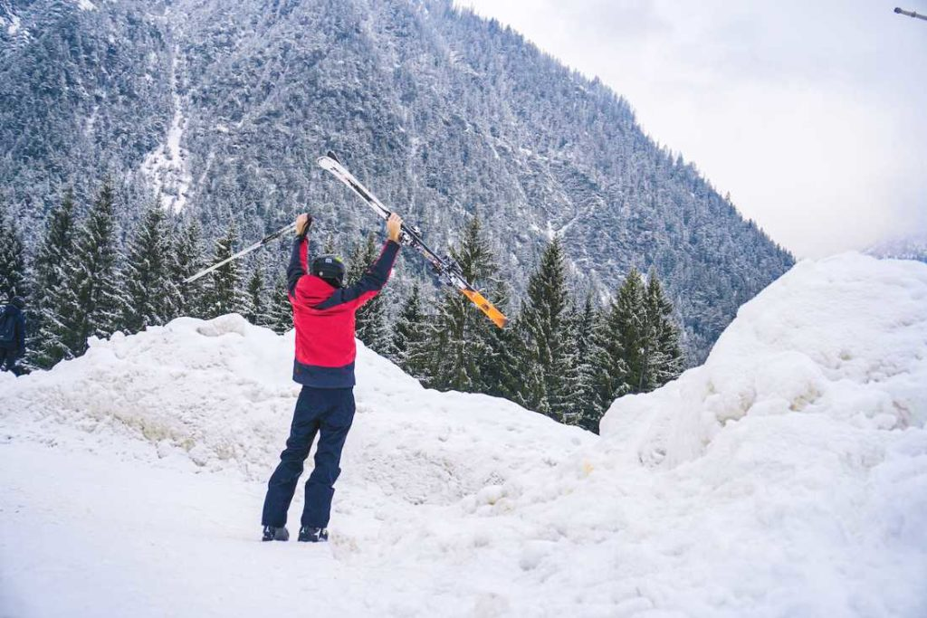Innsbruck, Austria in winter
