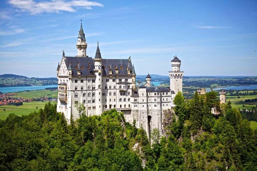 Neuschwanstein Castle- landmark of europe