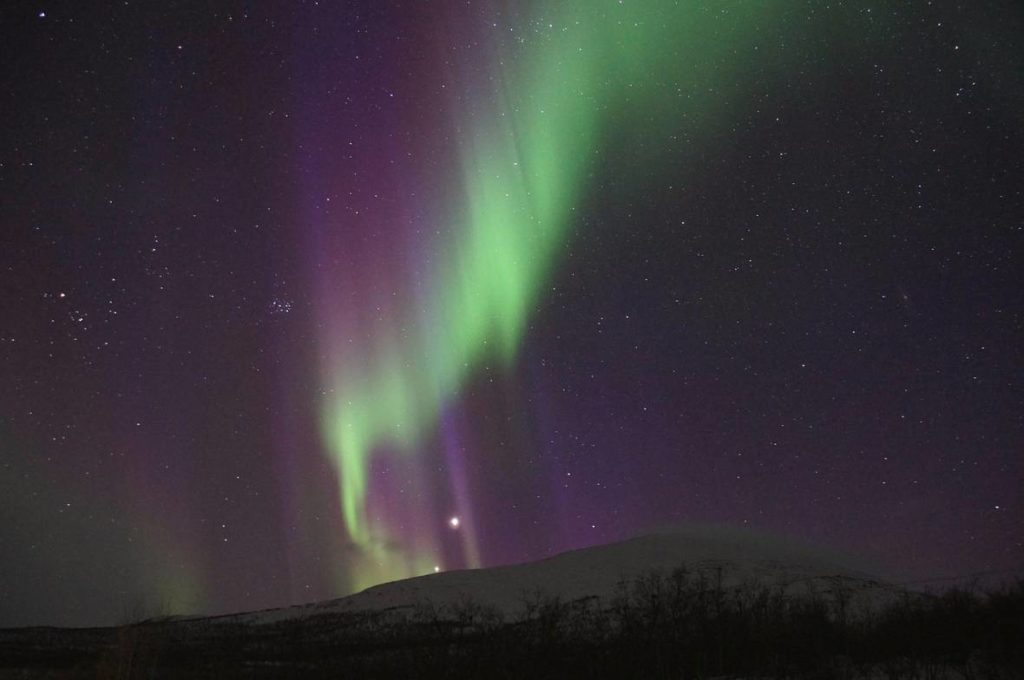 best places to see the northern lights in Europe