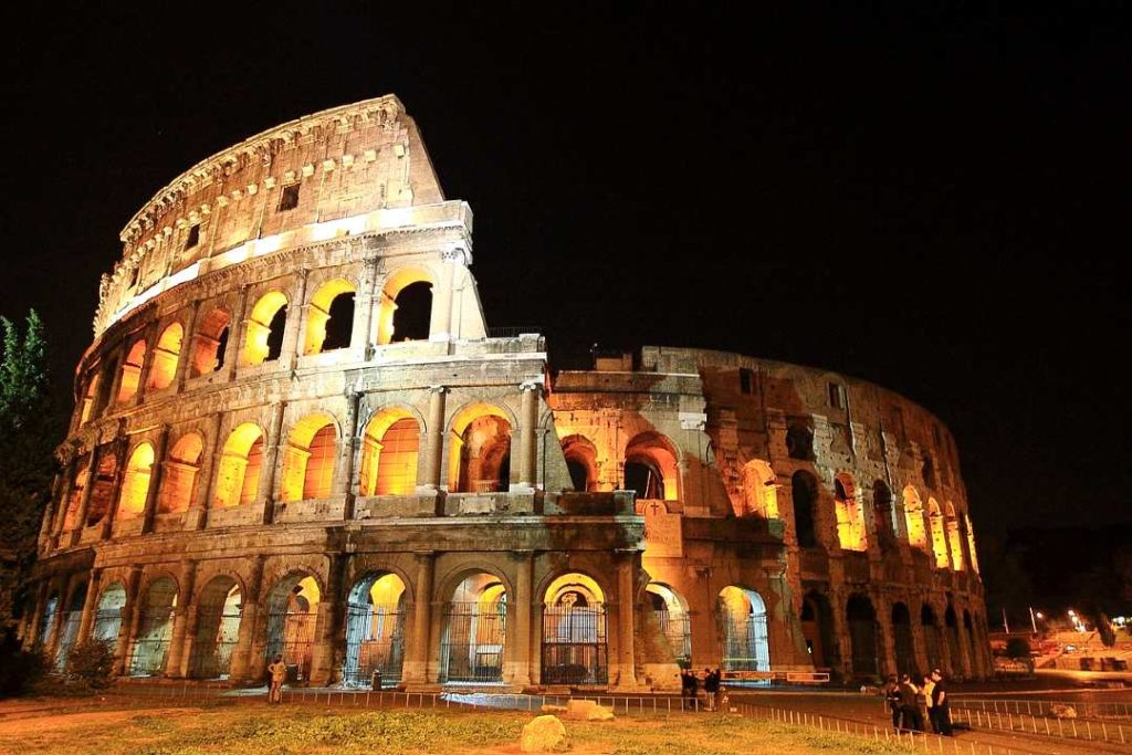 the colosseum is one of the famous landmarks Europe