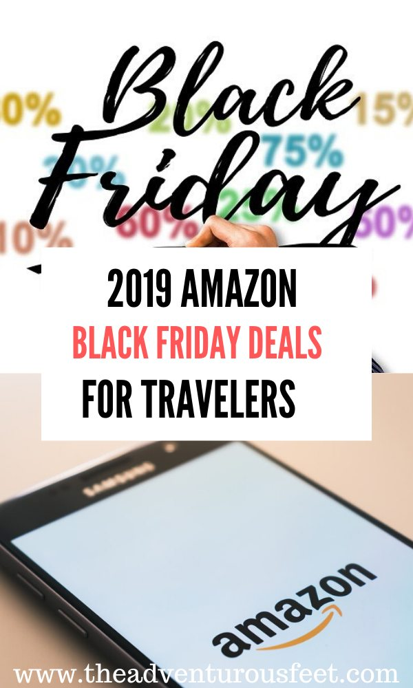 Looking for black friday deals? Here are the 2019 amazon black friday deals for travelers. | black friday deals for travelers | amazon black friday deals