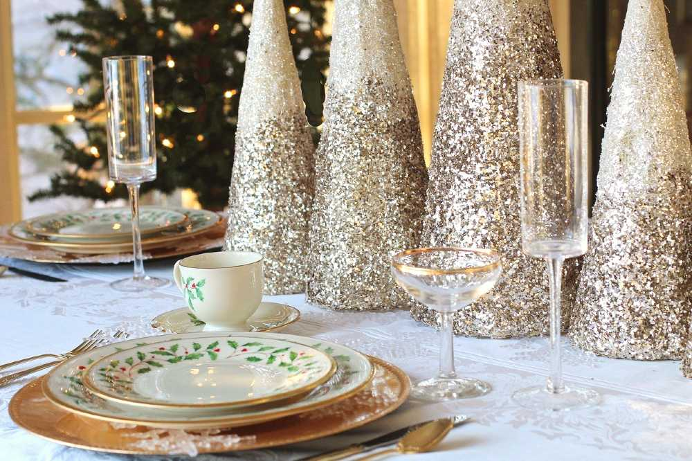 christmas dinner in Paris