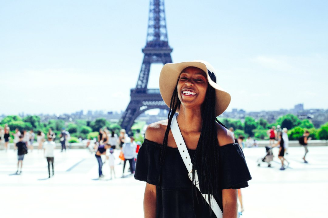 traveling in paris for the first time