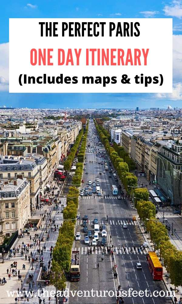 Have only 1 day in Paris? Here is the perfect paris one day itinerary to guide you through your trip. | How to spend one day in Paris |Paris in one day itinerary |Paris one day |Paris in a day | Paris in a day | one day in paris itinerary | 24 hours in Paris one day | paris for 24 hours | 24 hours in paris france #parisonedatitinerary #adayinparis #onedayinparis #theadventurousfeet