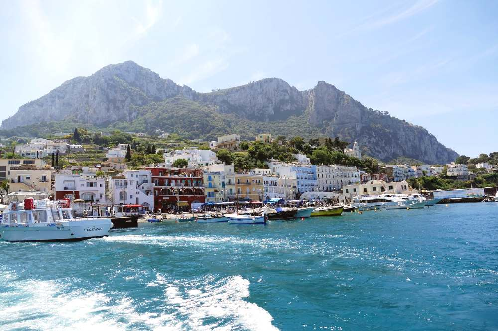 Capri- europe honeymoon destinations