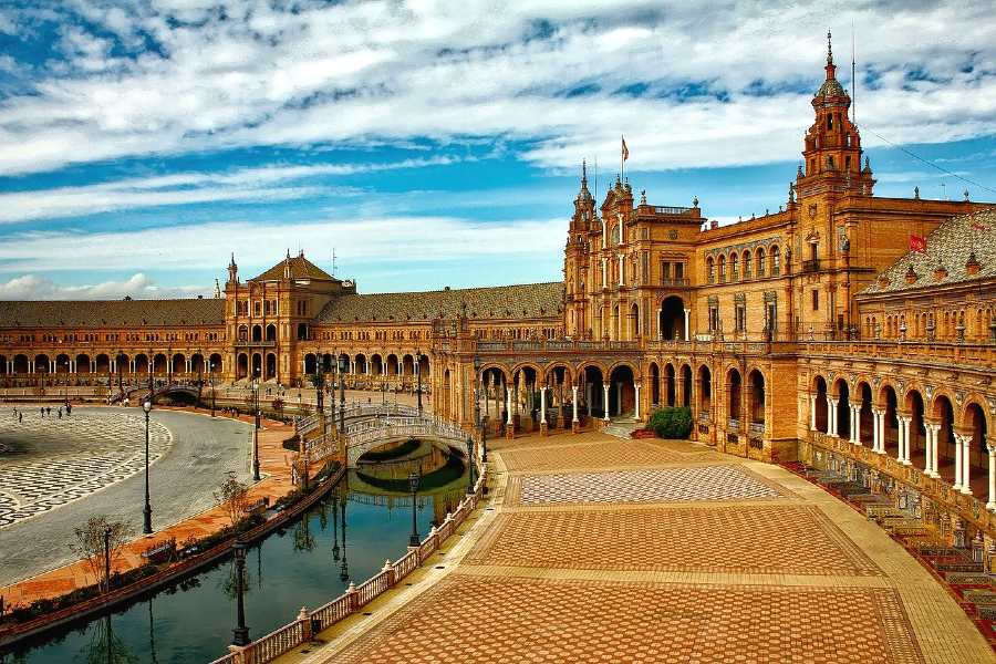 Seville - romantic trips in europe