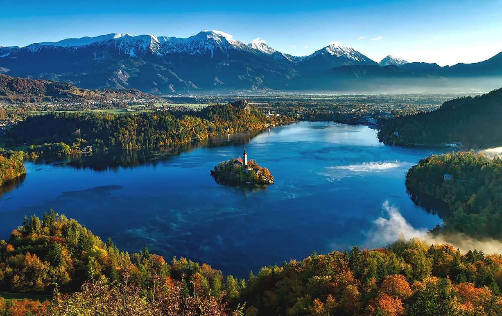 lake bled - most romantic places in europe