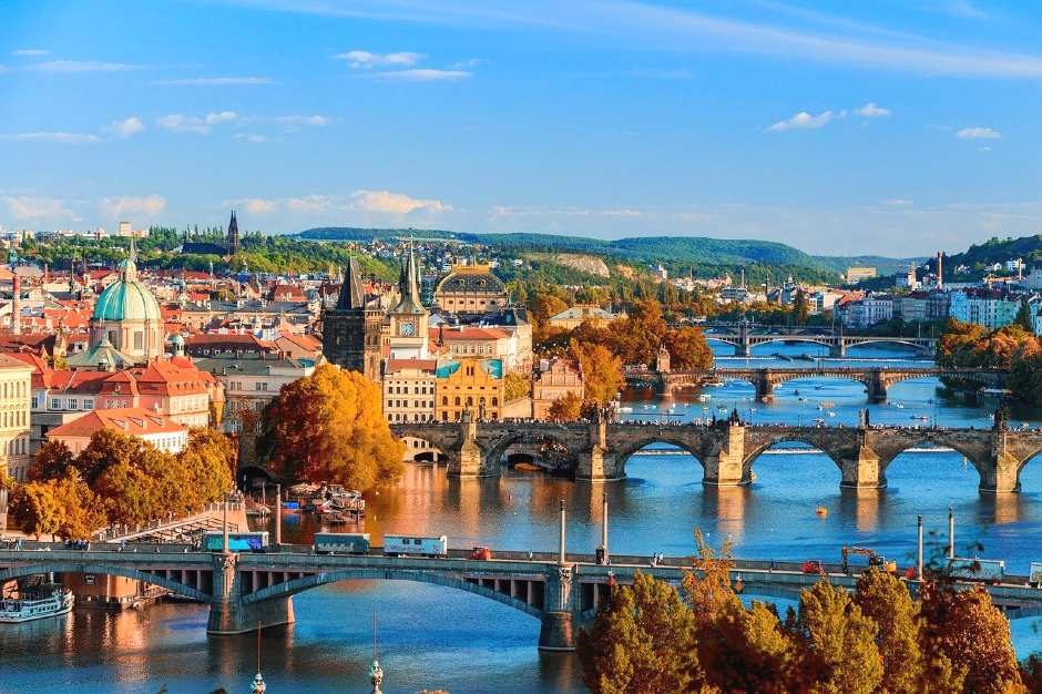 Prague - romantic holidays in europe