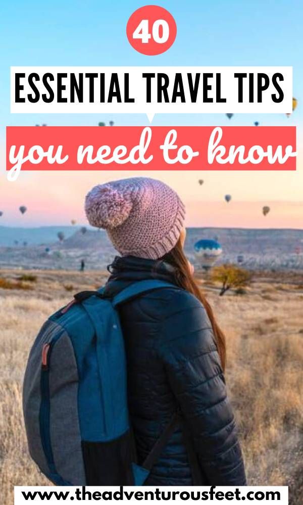 Are you planning your first trip? Here are the most useful tips for first time travelers you need to know. |tips for traveling abroad for the first time | tips for first time travelers | first time traveling abroad | first time international travel |tips for first time travelers | first time traveler tips | travel tips for first time travelers | tips for first time international travel | tips for traveling abroad first time #traveltips #essentialtraveltips #traveladviseforfirsttimetravelers #theadventurousfeet