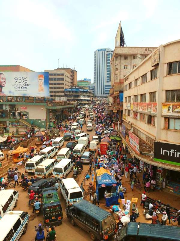 transportaion in uganda