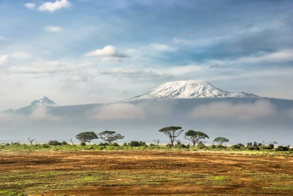 backpacking Africa