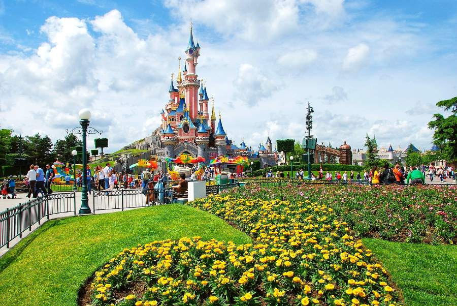 french landmarks- disney paris