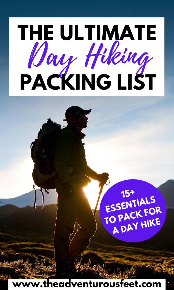 Planning to go hiking? Here are the day hiking essentials you should not leave behind| day hiking essentials for women| packing list for a day hike| day hike packing list| one day hike packing list| day hike packing list summer | day hike essentials | day hike backpack essentials| what to pack for a day hike| what to take on a day hike #dayhikingessentials #packinglistforadayhike #hkingtips #hikingessentials