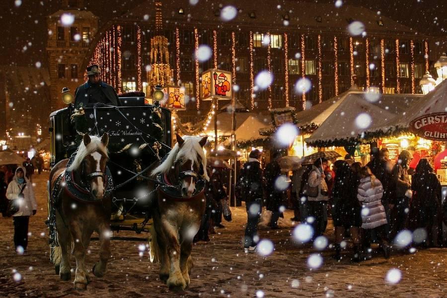Nuremberg at christmas