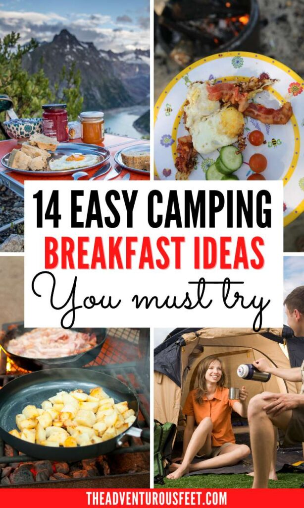 Planning to go camping and looking for breakfast ideas? Here are the best camping breakfast ideas that are easy to make| camping breakfast ideas for kids| easy camping breakfast meals| RV camping meals breakfast| healthy camping meals breakfast|  breakfast recipes for camping| best camping breakfast recipes| breakfast for camping ideas| easy breakfast for camping| easy breakfast ideas for camping | camping recipes for breakfast| non cooking breakfast ideas