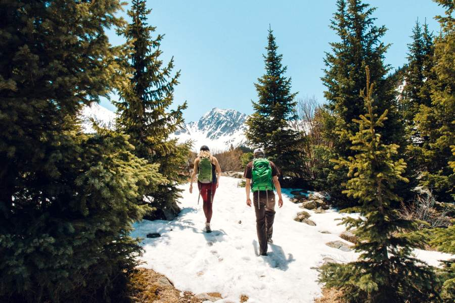 staycation ideas- hiking as a couple